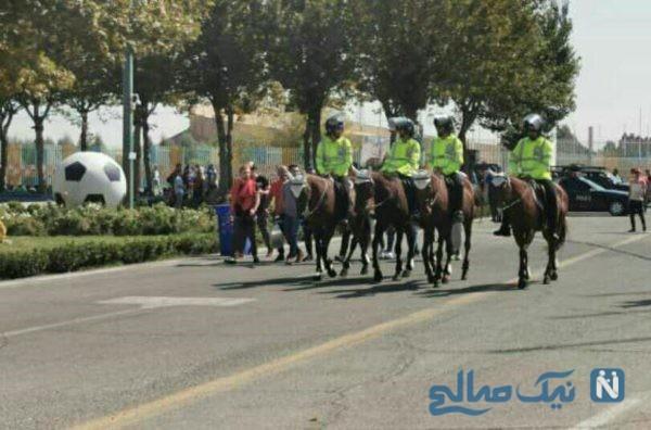 پلیس ورزشگاه ازادی