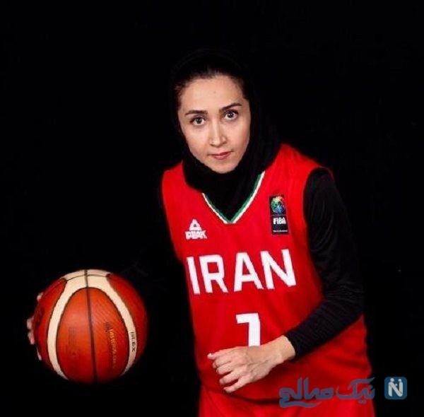 کاپیتان تیم ملی بسکتبال ایران
