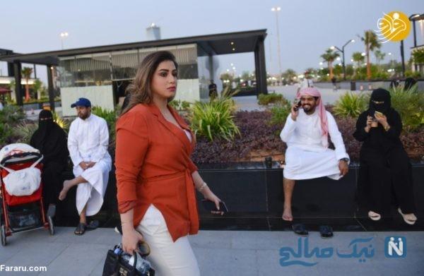 کشف حجاب زنان در عربستان