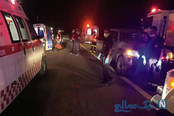 حادثه هولناک برای اتوبوس حجاج در مدینه منوره با ۳۵ کشته