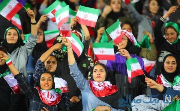 اجازه ورود زنان به ورزشگاه