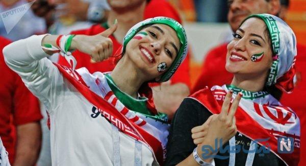 گریه های بی امان مادر ایرانی به خاطر اجازه ورود زنان به ورزشگاه آزادی