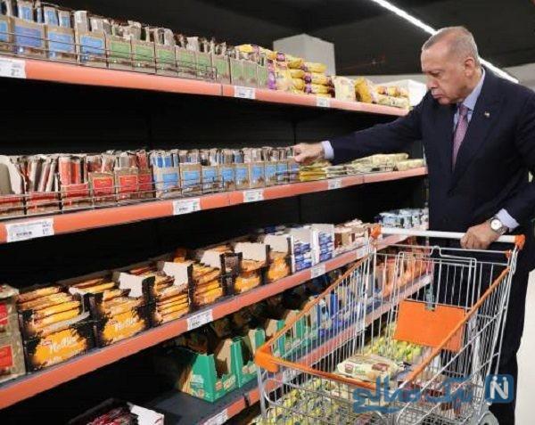 خرید رفتن اردوغان رئیس جمهور ترکیه