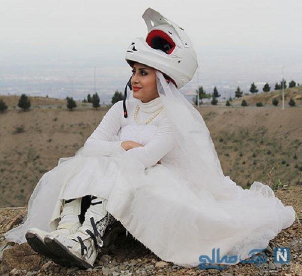 اولین بانوی موتورسوار ایرانی
