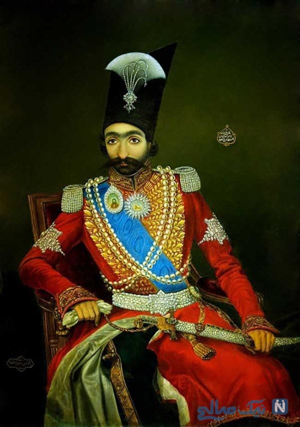 ازدواج همزمان با دو خواهر به سبک شاه ایرانی !