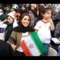 همسر علیرضا بیرانوند در ورزشگاه | خوشحالم آرزوی همسرم برآورده شد !!