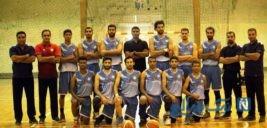 عیادت تیم بسکتبال شهرداری بندرعباس از رضا صادقی