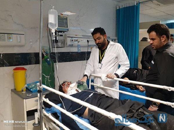 تصادف اتوبوس زائران ایرانی در عراق