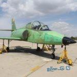 ژست بسیار جالب خلبان جت آموزشی یاسین تمام ایرانی