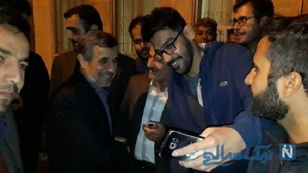 جشن تولد احمدی نژاد