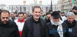 جهانگیری معاون اول روز اربعین را در جوار امام حسین به سر برد