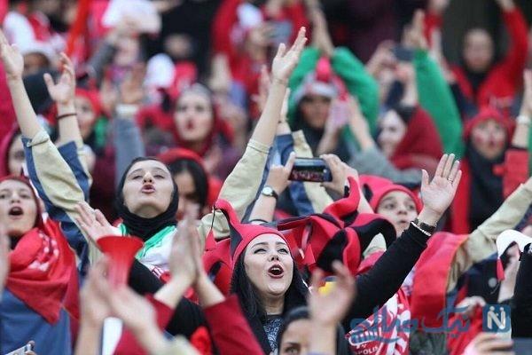 تفاوت حضور بانوان در ورزشگاه برای تماشای بازیهای لیگ و تیم ملی!