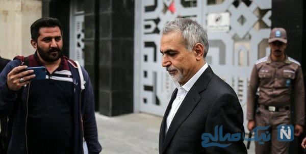 حسین فریدون در زندان