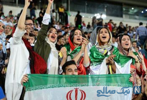 واکنش کیهان به حضور زنان در استادیوم آزادی ایران