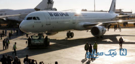اولین پرواز خلبانان زن ایران