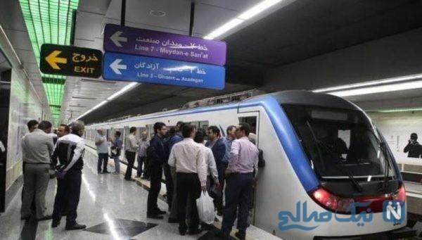 درگیری وحشتناک رئیس هیئت مدیره مترو با کارمند معترض خود