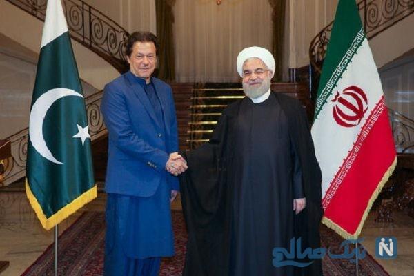 دیدار روحانی و عمران خان
