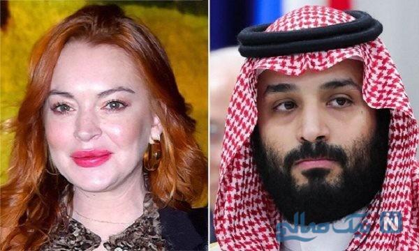 رابطه بن سلمان با بازیگر امریکایی