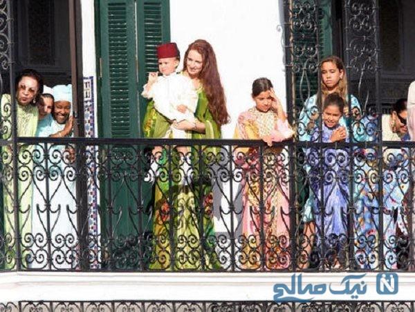 همسر پادشاه مراکش