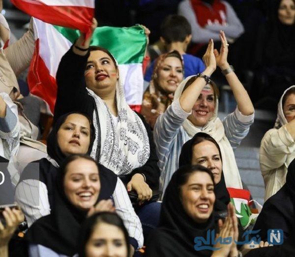 فعال شدن جایگاه A6 ورزشگاه آزادی برای زنان