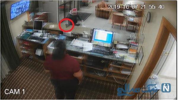 منشی شیردل سرقت مسلحانه از هتل را خنثی کرد