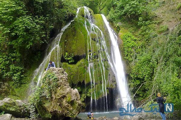 سقوط آزاد ترسناک و زیبای یک مرد از سومین آبشار بلند دنیا
