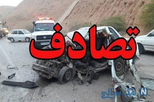 سقوط جرثقیل در تهران