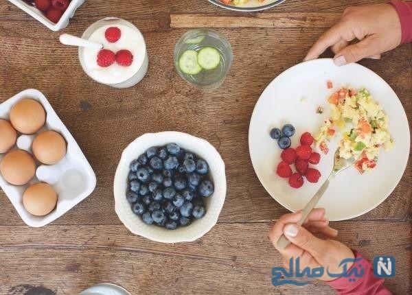 صبحانه های رژیم لاغری