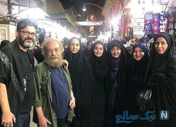 عکس بازیگران ایرانی در کربلا