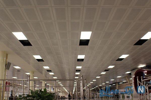 سقف فرودگاه مهرآباد