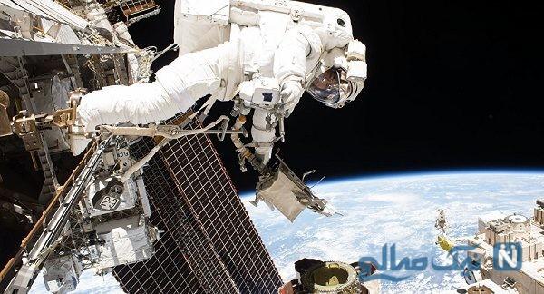 سلفی استثنایی و تاریخ ساز زن فضانورد آمریکایی