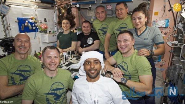 فضانورد اماراتی