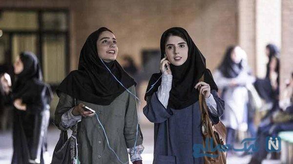 انتشار تبلغ در فیلم ( سال دوم دانشکده من ) با صدای یک زن