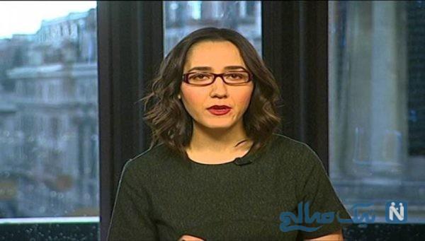 مجری بیبیسی فارسی از پخش صداهای ناهنجار غافلگیر شد