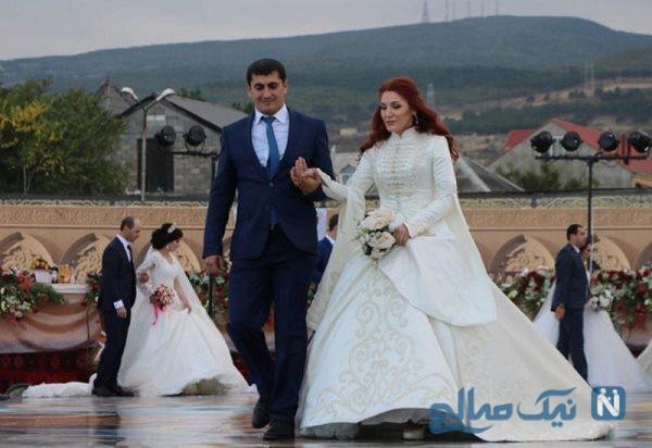 عروسی های جالب که در رکورد گینس ثبت شد !