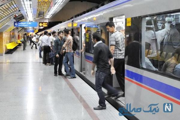 مسافران مترو
