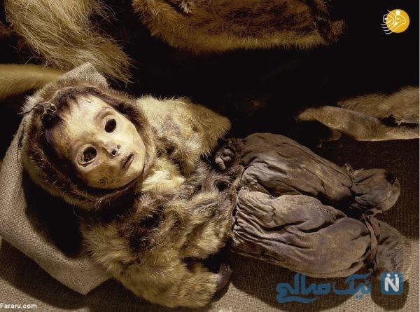 مومیایی بچه