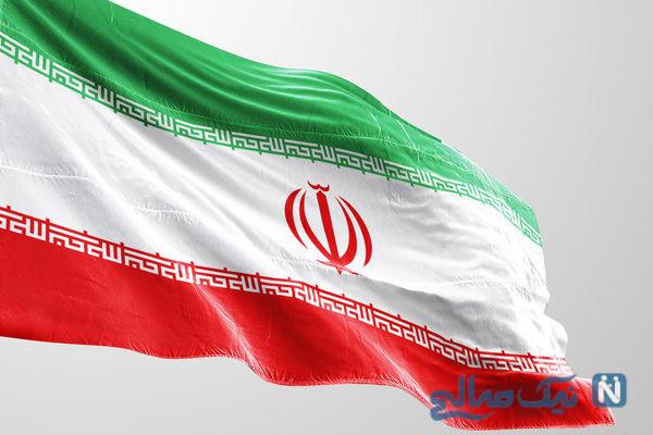 نصب وارونه پرچم ایران و اشتباه فاحش در یک مراسم استقبال!