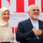 همسر محمدجواد ظریف در جشنواره غذا و صنایع دستی