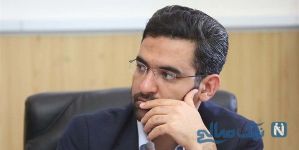 محمد جواد آذری جهرمی وزیر ارتباطات در کربلا