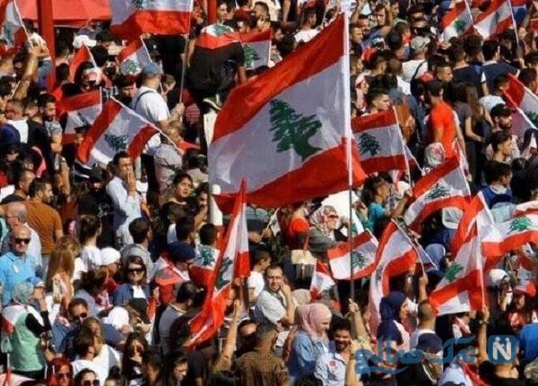 جشن و سرور مردم لبنان پس از استعفای سعد حریری