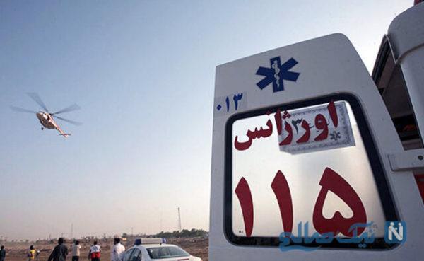 واژگونی ون زائران کربلا و مصدومیت ۱۵زائر ایرانی