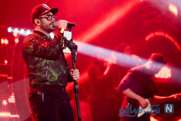 پلان محل برگزاری کنسرت محمدرضا گلزار در آمریکا