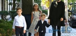گردش ایوانکا ترامپ و خانواده اش در خیابان های واشنگتن