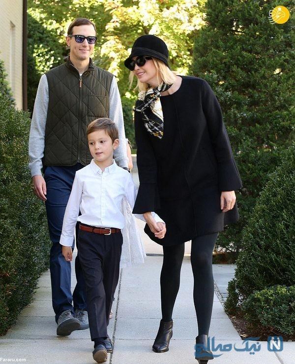 ایوانکا ترامپ و خانواده اش