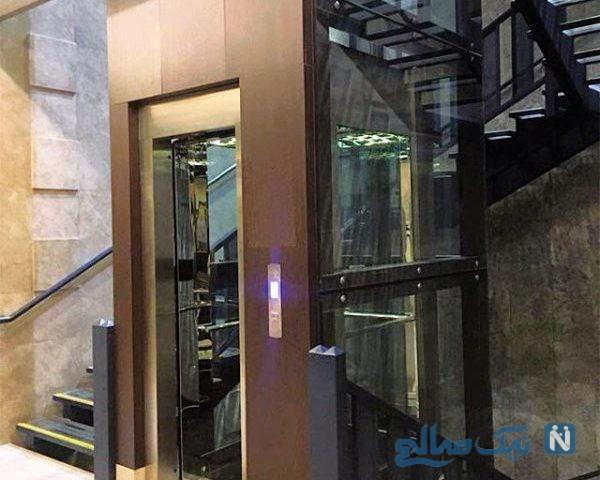 فرماندار اشتهارد برای اتاقش آسانسور شخصی گذاشت