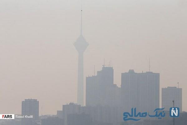 آلودگی هوای تهران تصاویر ناراحت کننده ای ایجاد کرد