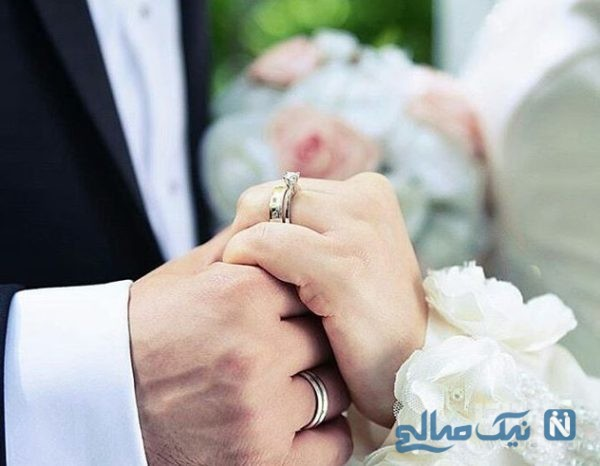 اقدام فانتزی عروس و داماد جنجالی در شب عروسی
