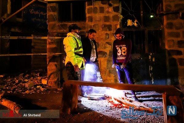 حضور شبانه امام جمعه آذربایجان شرقی در روستای ورنکش