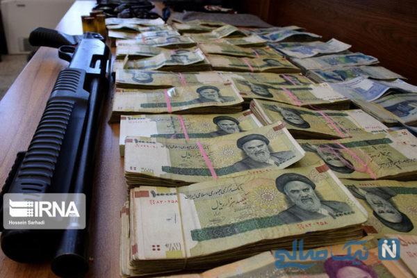 سارقان بانک ملی زاهدان